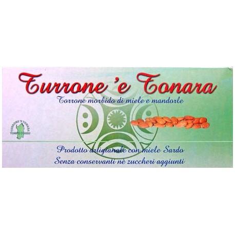 Torrone tipico sardo -Astuccio Floreale-